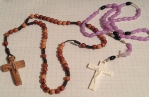broken rosaries