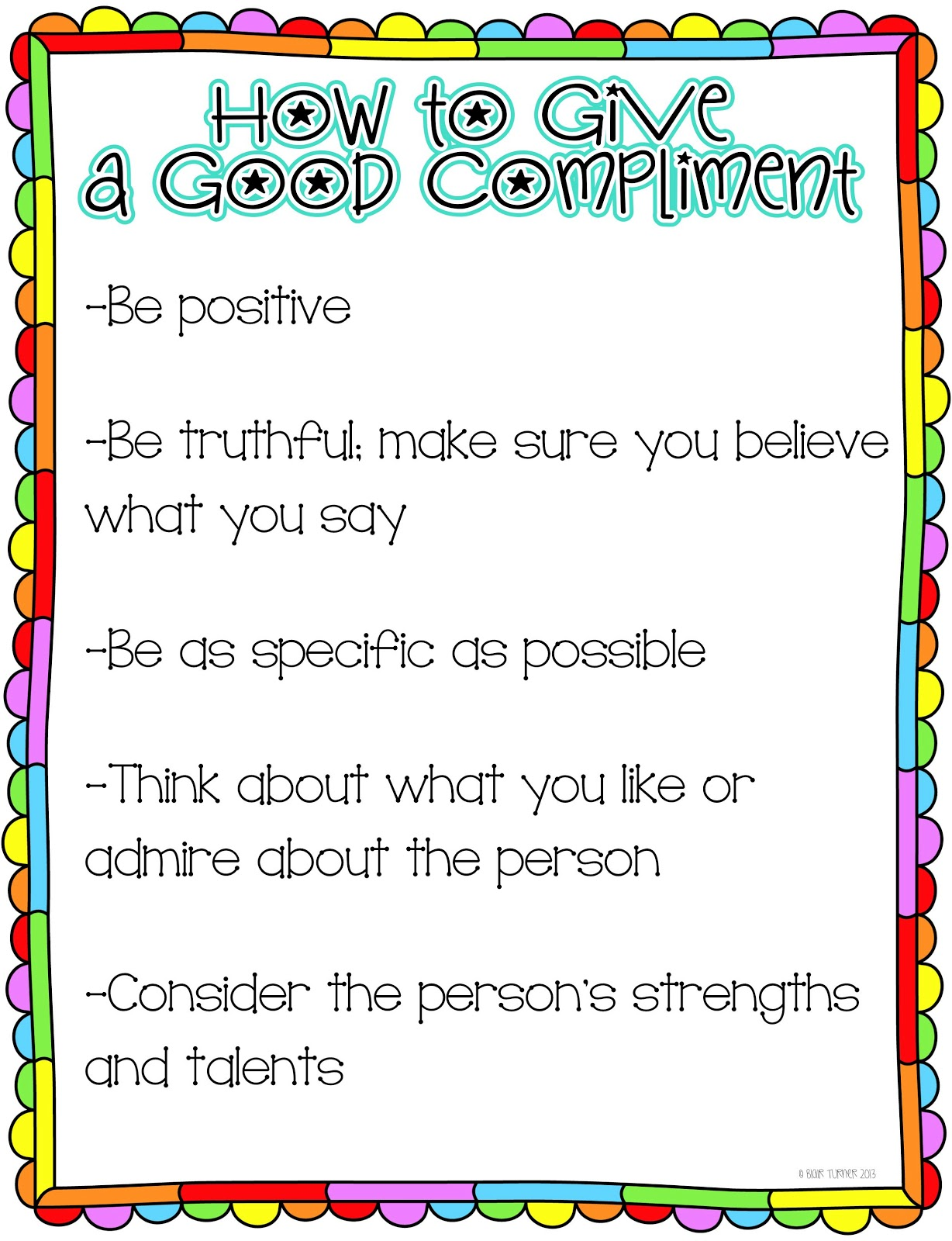 personality traits letters to the pope how to give a good compliment end of the year