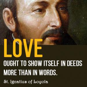 Love deed Ignatius